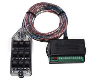 9-ROCKER Universal Air Ride Switch Controller – Clear