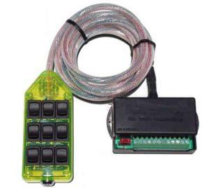 9-ROCKER Universal Air Ride Switch Controller – Green