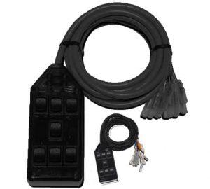 7-ROCKER Universal Air Ride Switch Controller – Black
