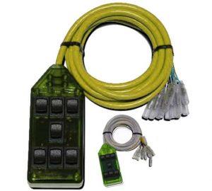 7-ROCKER Universal Air Ride Switch Controller – Green