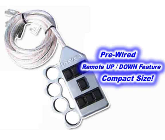 Billet Brass Knuckle 7-Switch Series Air Ride Switch Control Box (Rocker Switch Box)