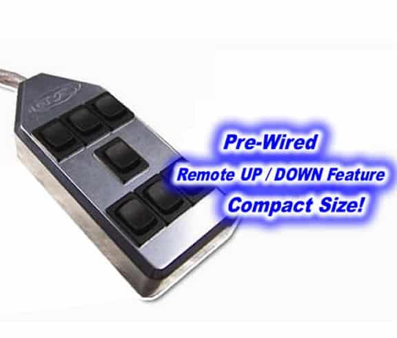 7-ROCKER Universal Air Ride Switch Controller – Machined Billet Aluminum