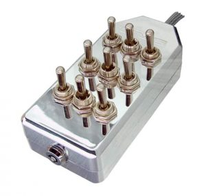 9-ROCKER Universal Air Ride Toggle Switch Controller – Chrome