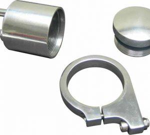 Billet Brake Fluid Reservoir Polished Mirror Finish – WITH BRACKET