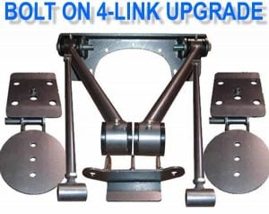 Triangulated 4-link to Bolt-On Triangulated 4-link **UPGRADE**