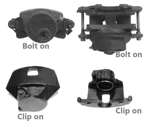 1971-1991 Chevrolet C20, C30, C35 3″ Drop Spindles (Clip On Calipers)