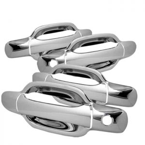 04-12 Chevy Colorado 4Dr / 04-12 GMC Canyon 4Dr Door Handle w/PSKH – Chrome