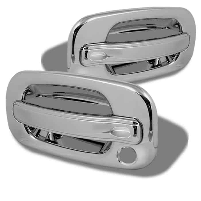 99-06 Chevy Silverado 2Dr / 99-06 GMC Sierra 2Dr Door Handle No PSKH - Chrome