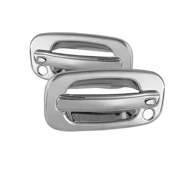 99-06 Chevy Silverado 2Dr / 99-06 GMC Sierra 2Dr Door Handle w/PSKH - Chrome
