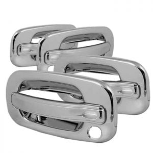 99-06 Chevy Silverado 4Dr, Avalanche 4Dr / 00-06 Chevy Tahoe 4Dr / 99-06 GMC Sierra 4Dr / 00-06 GMC Yukon 4Dr Door Handle w/PSKH – Chrome