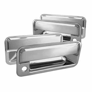 95-99 Chevy Tahoe 4Dr / 92-99 GMC Yukon 4Dr / Chevy C/K Series 1500/2500 / 92-99 Chevy Suburban 4Dr Door Handle w/PSKH – Chrome