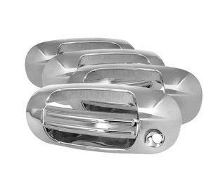 03-12 Ford Expedition / 03-12 Lincoln Navigator Door Handle Cover No PSKH – Chrome