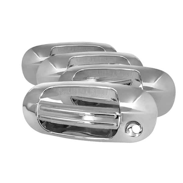 03-12 Ford Expedition / 03-12 Lincoln Navigator Door Handle Cover No PSKH - Chrome
