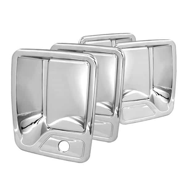 00-05 Ford Excursion / 99-12 Ford Super Duty F250, F350 4Dr Door Handle No PSKH - Chrome