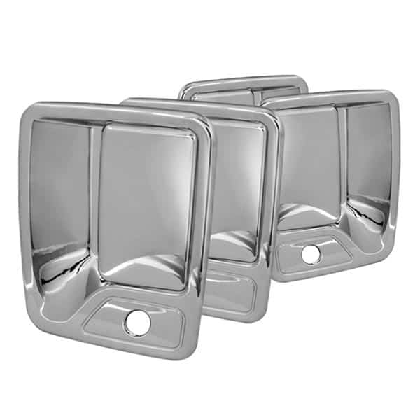 00-05 Ford Excursion / 99-12 Ford Super Duty F250, F350 4Dr Door Handle w/PSKH - Chrome