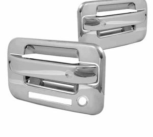 04-12 Ford F150 2Dr Door Handle w/Keypad with PSKH – Chrome