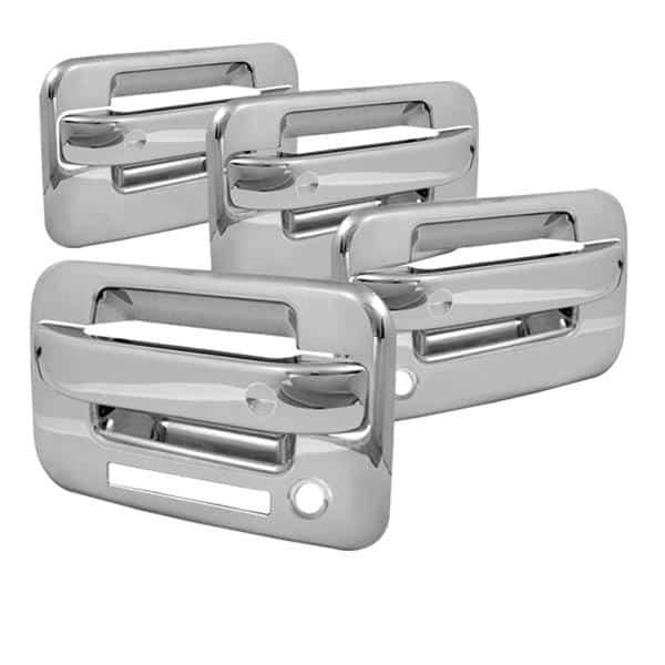 04-12 Ford F150 4Dr Door Handle w/Keypad w/PSKH - Chrome