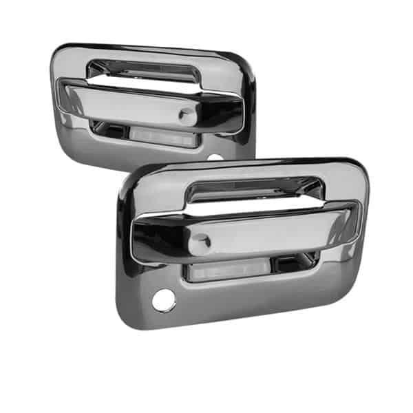 04-12 Ford F150 2Dr Door Handle No Keypad w/PSKH - Chrome