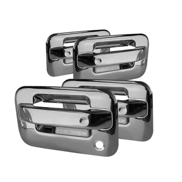 Chrome Door Handle Cover Fits Ford F-150 97-03 F150 Expedition Navigator Keypad