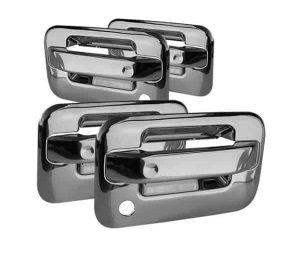 04-12 Ford F150 4Dr Door Handle No Keypad w/PSKH – Chrome