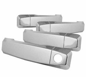 04-12 Nissan Titan 4Dr Door Handle No PSKH – Chrome