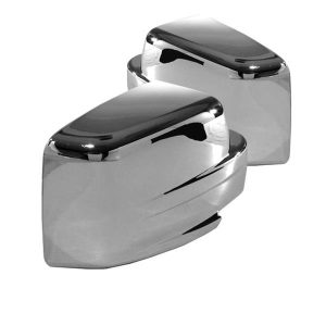 07-12 Jeep Patriot / Liberty 08-12 / Dodge Nitro 41466 (Not Fit Folded Mirror Models) Mirror Cover – Chrome