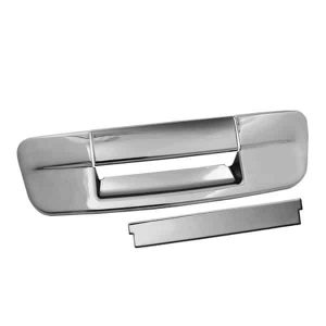 09-12 Dodge Ram 1500, 2500, 3500 3pcs No Key Hole Tail Gate Handle Cover – Chrome