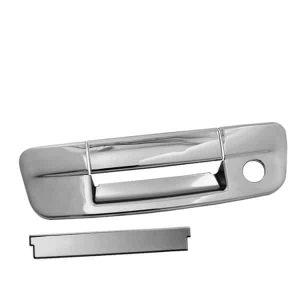 09-12 Dodge Ram 1500, 2500, 3500 3pcs W/Key Hole Tail Gate Handle Cover – Chrome