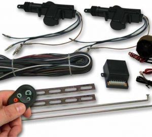 2 Door Lock Kit with Alarm