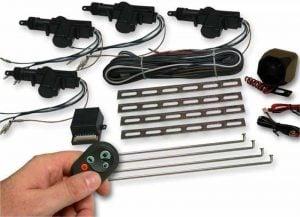 4 Door Power Lock Kit with Alarm