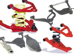 1984-2006 Chevrolet Astro, Safari, Caprice Lowered Tubular Control Arms (Pair) (Lower Arms)