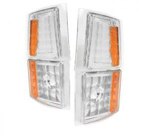 1994-1998 Chevy C/K Pickup Amber 4 PC Corner Lights – Euro