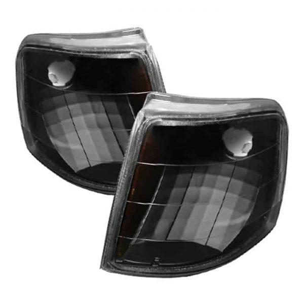 1993-1997 Ford Ranger Amber Corner Lights – Black