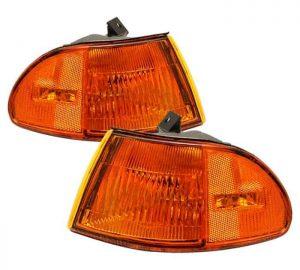 1992-1995 Honda Civic 4Dr Corner Lights – Amber