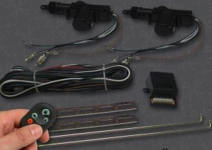 2 Door Remote Central Lock Kit with Remotes