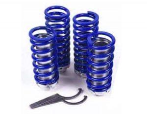 1986-1989 Mazda 323 Coilover Kit (Coils, Adjustment Barrel, Spanner Wrench)