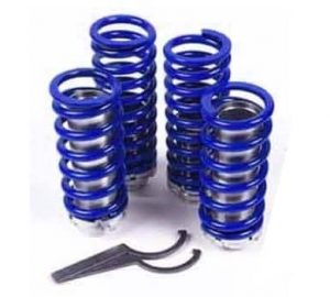 1985-1992 Volkswagen Golf GTI Coilover Kit (Coils, Adjustment Barrel, Spanner Wrench)