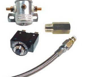 Air Ride Compressor Kit -With Circuit breaker, Leader Hose, Check Valve