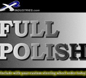 Steering Wheel Polishing (Full Hand Polished Service)
