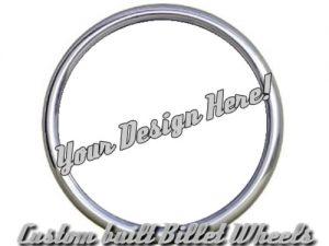 Full Custom Billet Steering Wheel – Custom Build (Your Design)