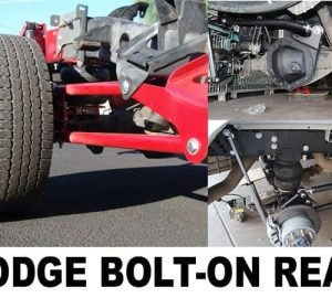 2003-2013 Dodge Ram 2500, 3500, Dually Rear Air Suspension Kit (no fittings) – Bolt On Tow Kit