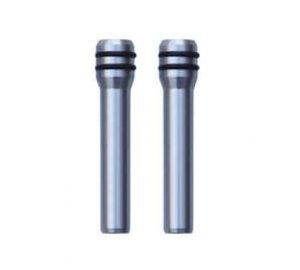 Billet Door Pins Brushed Aluminum (Pair)