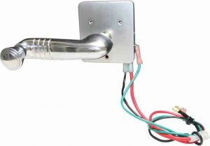 Electric Window Switch (Spline Shaft) 1931-1938 Chevy