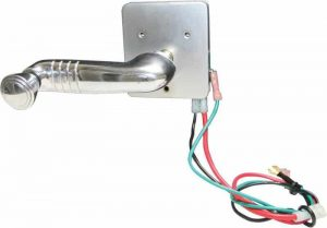 Electric Window Switch (Spline Shaft) 1939-1948 Chevy