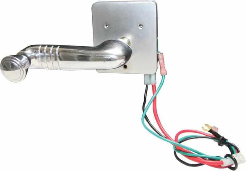 Electric Window Switch (Spline Shaft) 1939-1948 Chevy