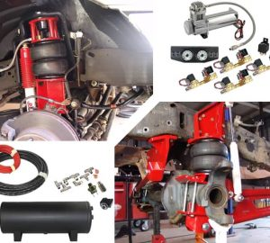 2008-2010 Ford F250, F350 4WD Complete Air Suspension Kit (super duty)