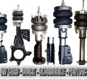 1988-1997 Oldsmobile Cutlass Supreme Front Air Suspension, Strut Kit (no fittings)