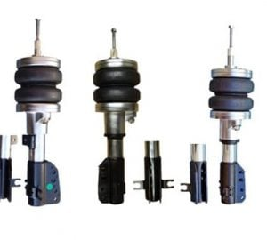 1983-1994 Fiat Uno Front Air Suspension Kit , Strut Kit (no fittings)