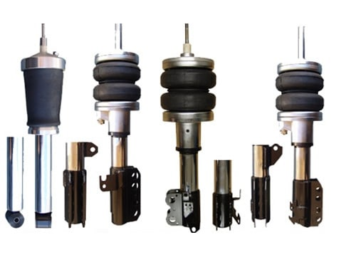 1997-2002 Toyota Corolla, Conquest, Euro Only Front Air Suspension, Strut Kit (no fittings)