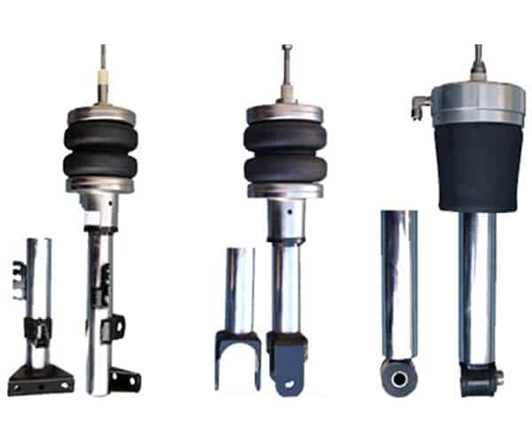 1998-2006 Mercedes ML55, ML320, All M-Series Front Air Suspension, Inverted Rear Struts (no fittings)
